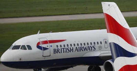 British Airways stewardess