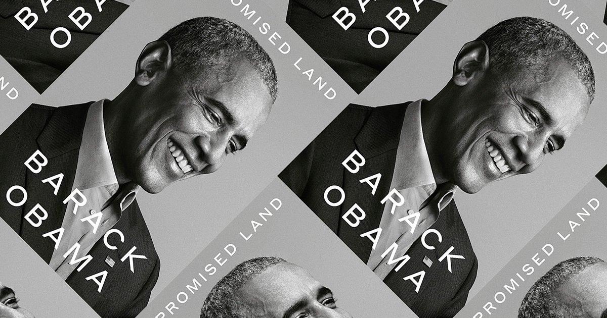 a promised land e1605730663448.jpg?resize=1200,630 - Le livre de Barack Obama est l'un des plus attendus de la décennie