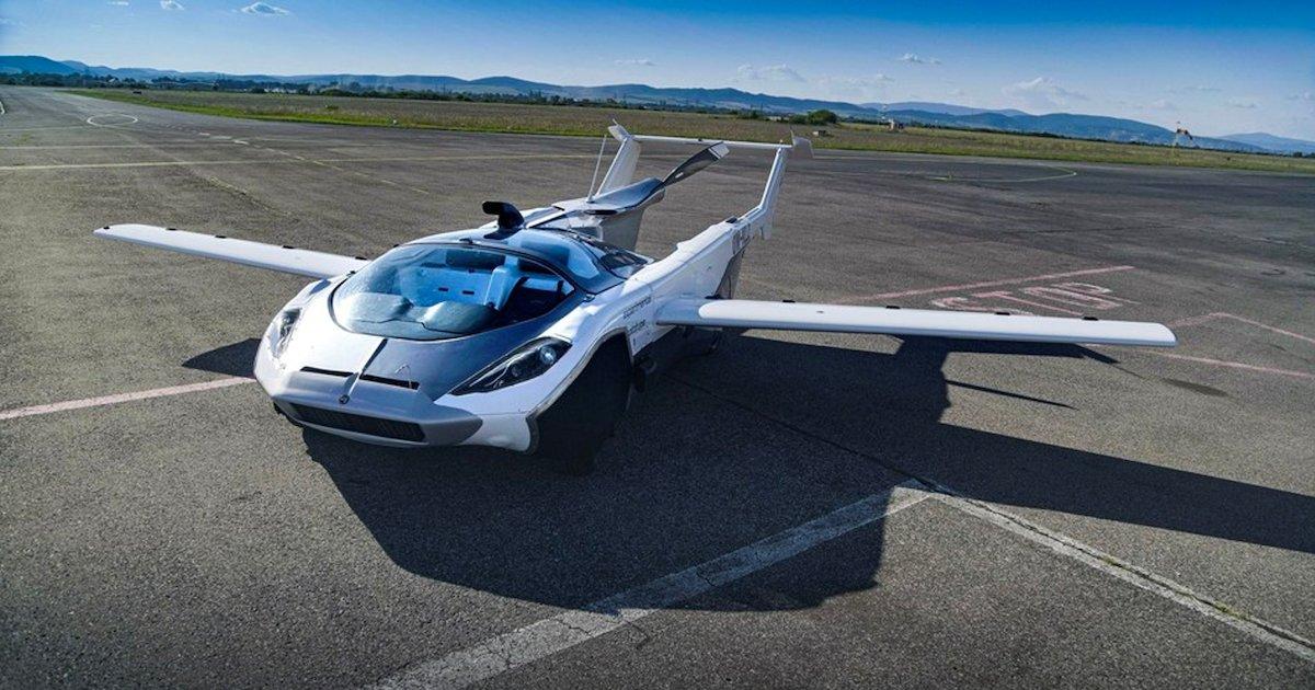 aircar.png?resize=1200,630 - La voiture volante AirCar de Klein Vision vient d'accomplir son premier vol