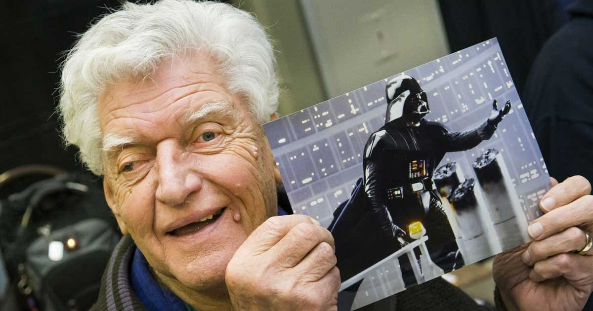 alamy.jpg?resize=412,232 - Original Darth Vader Actor David Prowse Dies At Age 85