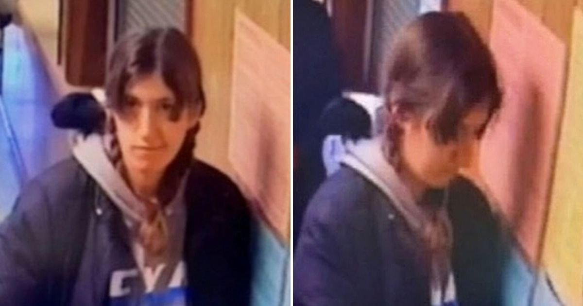arsonist5.jpg?resize=1200,630 - Smirking Woman Who Started A Fire In Election Day Polling Station Was Caught On CCTV