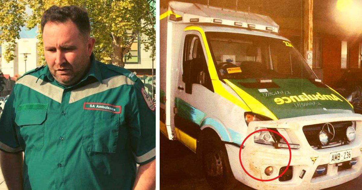 articulosportadas 1 14.png?resize=1200,630 - Paciente Pierde La Vida En Una Ambulancia Porque El Paramédico Se Quedó Dormido