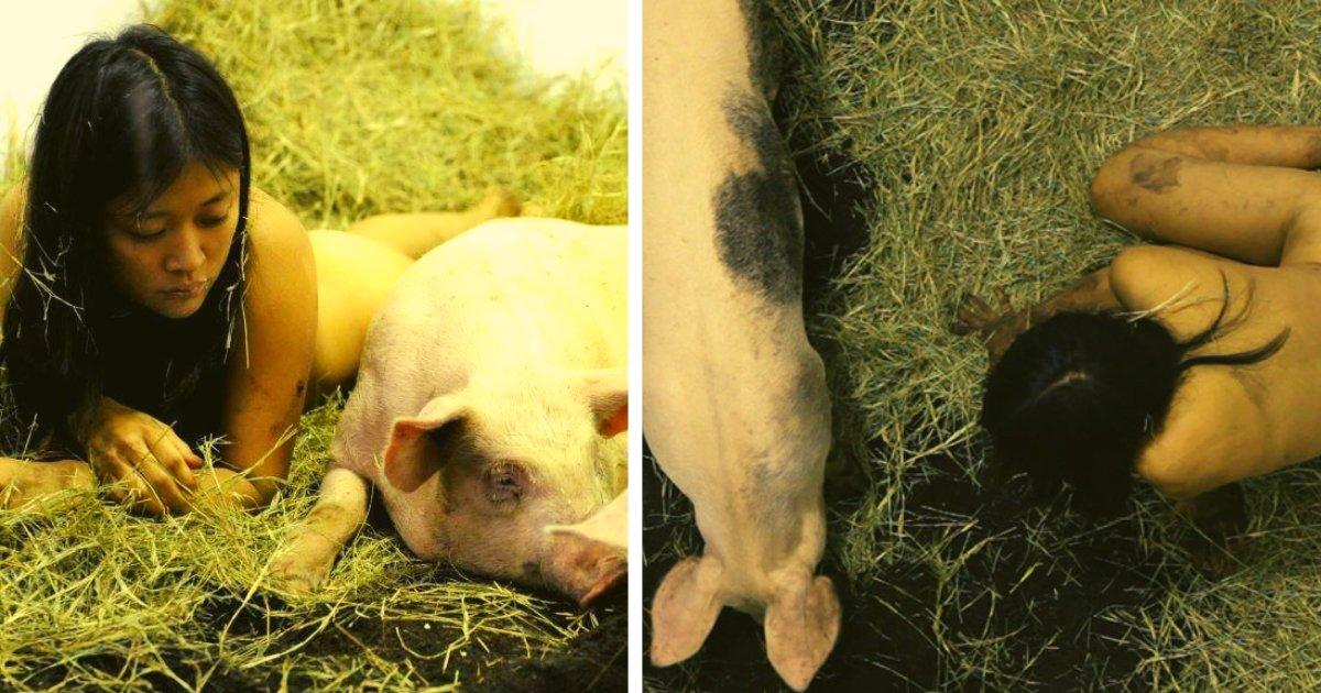 articulosportadas 1 30.png?resize=1200,630 - Una Mujer Decidió Convivir Con Cerdos Para Despertar Conciencia En La Gente