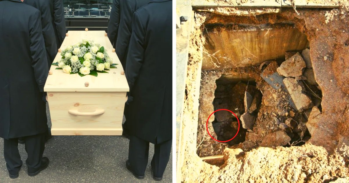 articulosportadas 50.png?resize=1200,630 - Pierde La Vida Luego De Caer Por El Agujero De Una Tumba Durante El Funeral De Su Esposa