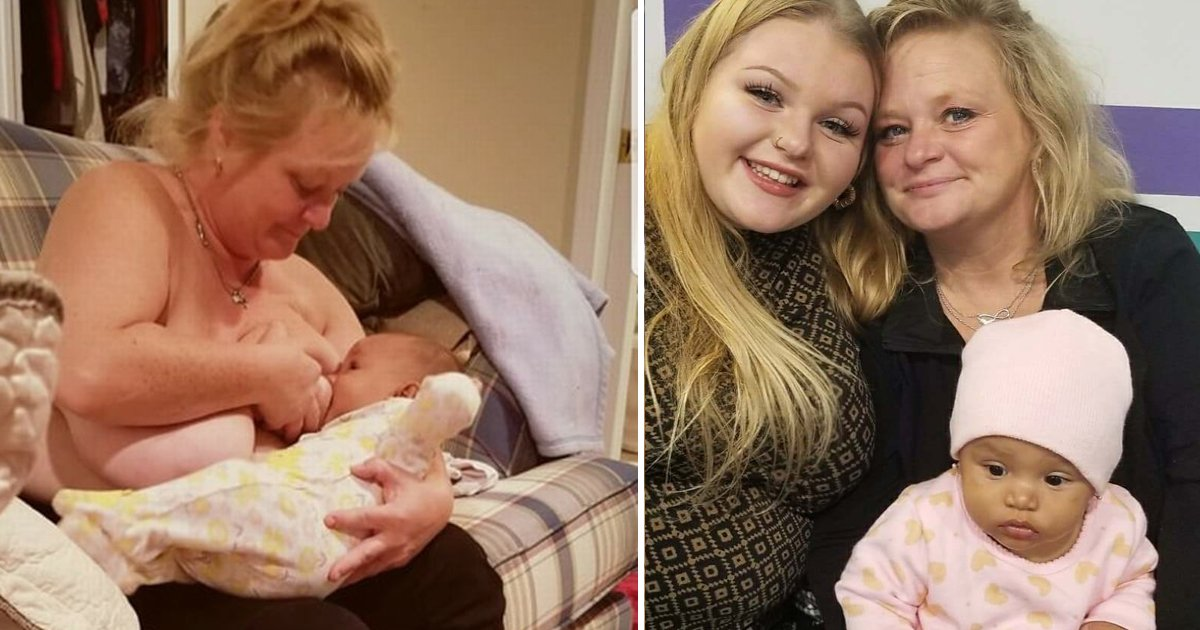 asdfdasf.jpg?resize=412,232 - Grandma Goes Viral For Breastfeeding Her Daughter's 10-Month-Old Baby