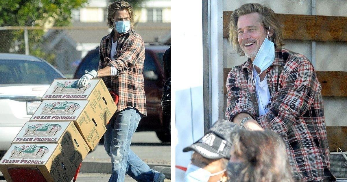 diseno sin titulo 2020 11 19t181614 108.jpg?resize=1200,630 - Brad Pitt Es Capturado Llevando Comida Y Ayuda A Los Necesitados