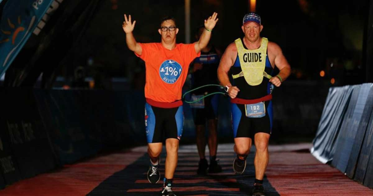 download.jpg?resize=1200,630 - Man Becomes World's First With Down Syndrome To Finish An Ironman Triathlon