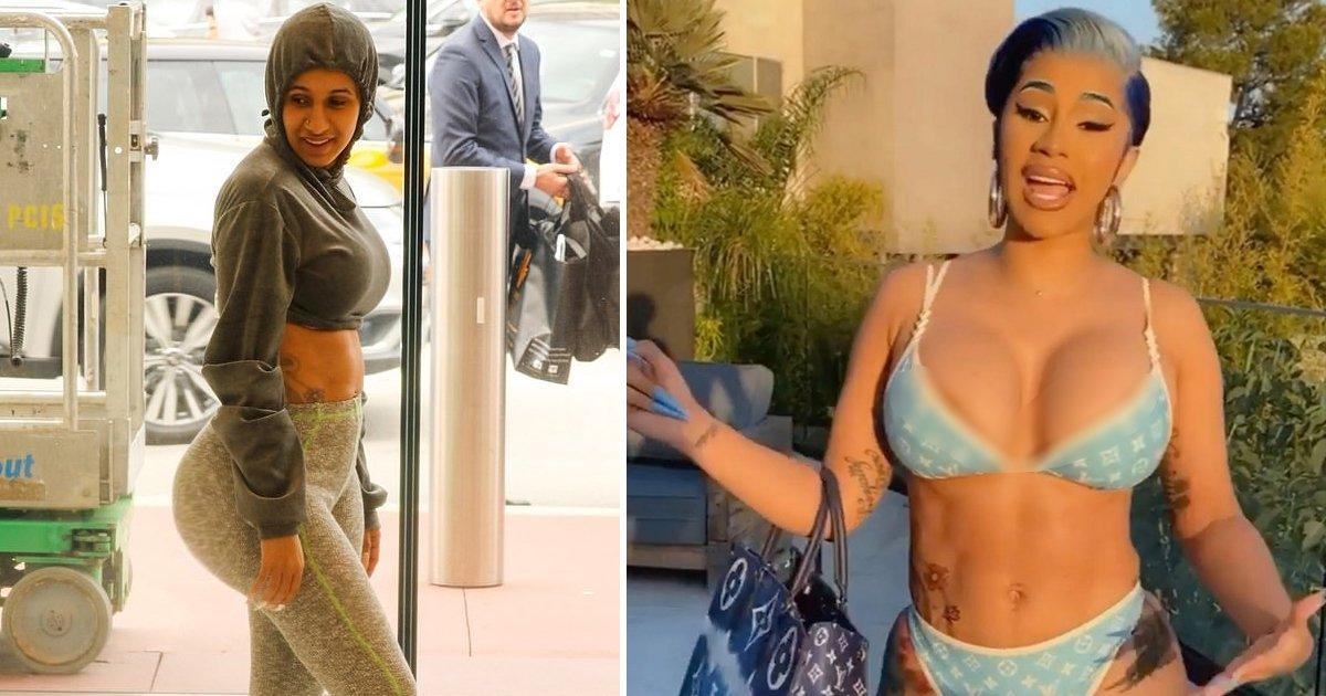 dsdfsfgsdgs.jpg?resize=412,232 - Photos Of Cardi B's Target Shopping Experience Go Viral As Star Shuts Body Shamers
