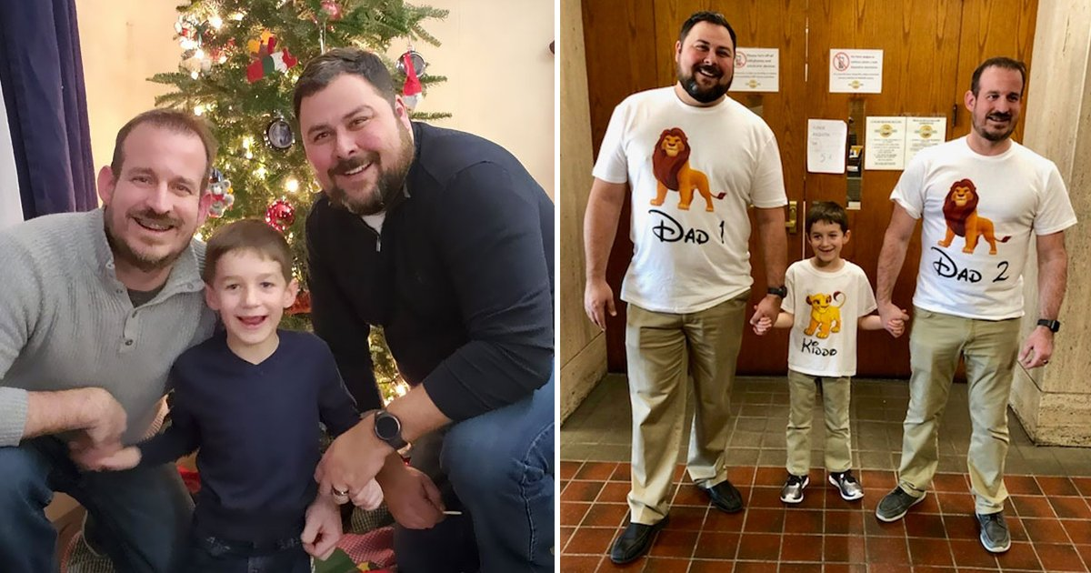 dsfsdg.jpg?resize=412,232 - Internet In Awe As Same Gender Parents Share Heartwarming Image After Son's Adoption