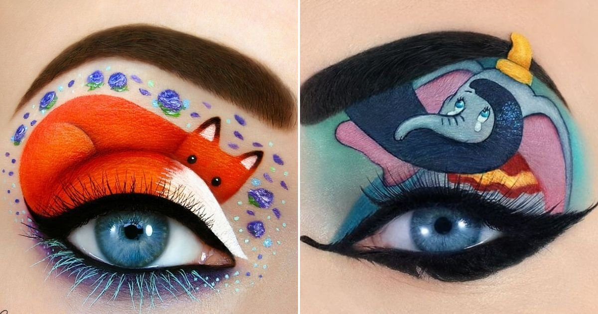 eye12.jpg?resize=1200,630 - Woman Creates Magical Scenes On Her Eyelids And Her Works Are Leaving Everyone In Awe