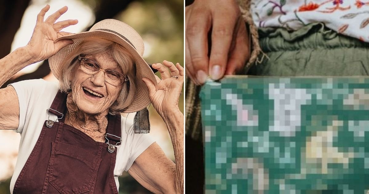 grandma2.jpg?resize=1200,630 - Grandmother Left Mortified After Buying A Bag With X-Rated Animal Prints