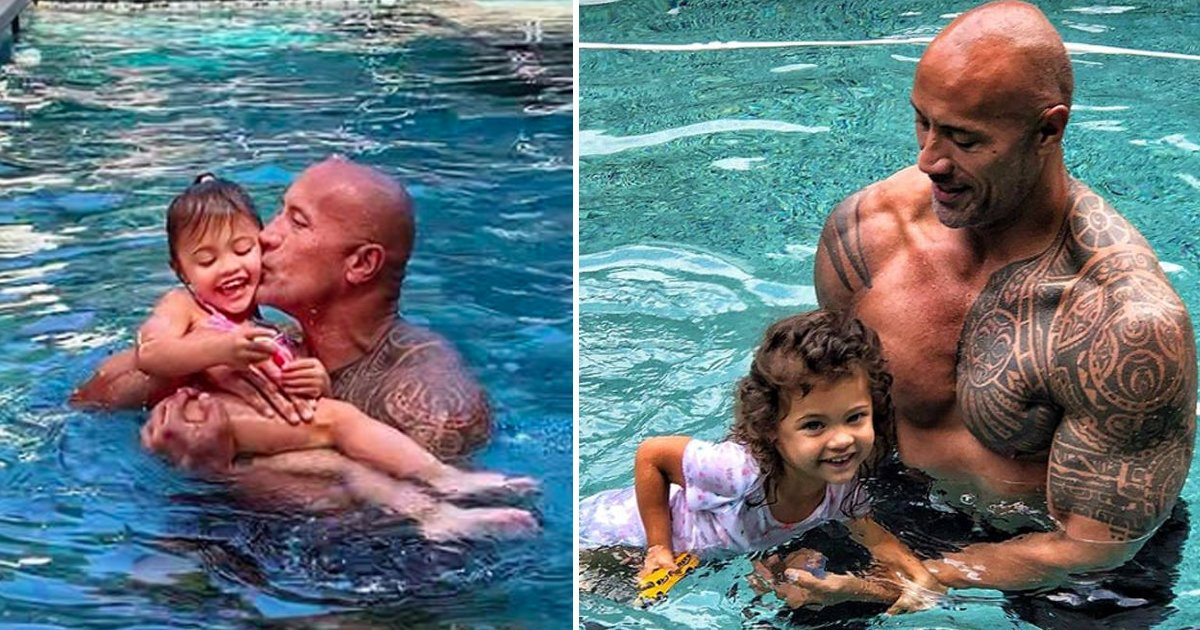 hasdfads.jpg?resize=1200,630 - Critics Target Dwayne Johnson's Daughter's Pool Photos, Labelling Them 'Inappropriate'