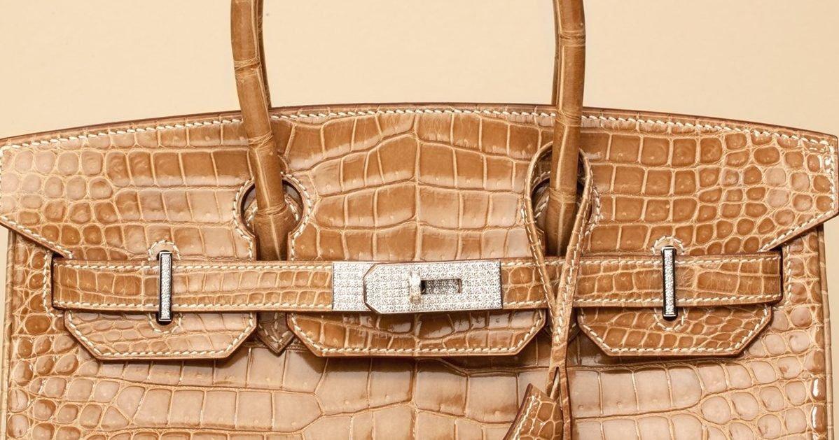 hermes ficelle shiny porosus crocodile leather diamond birkin title e1605113901113.jpg?resize=1200,630 - Hermès projette de construire la plus grande ferme de crocodiles d'Australie