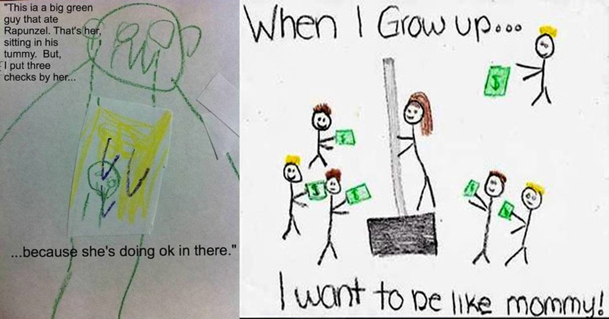 hsdfsdfs.jpg?resize=1200,630 - These Creepy Drawings By Kids Are Reminiscing A Terrifying Experience