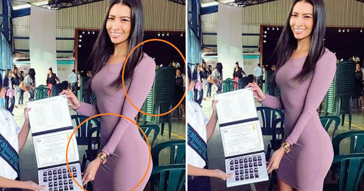 hssdg.jpg?resize=1200,630 - Dad Photographs 'Attractive Teacher' Instead Of Own Child On Graduation Day
