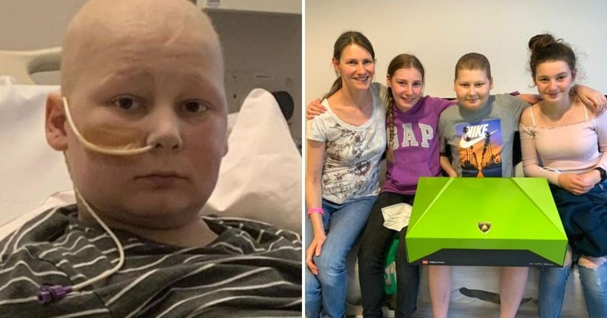 louie5.jpg?resize=412,232 - Family's Heartbreak As 14-Year-Old Boy Was Told He Only Has Three Weeks Left To Live