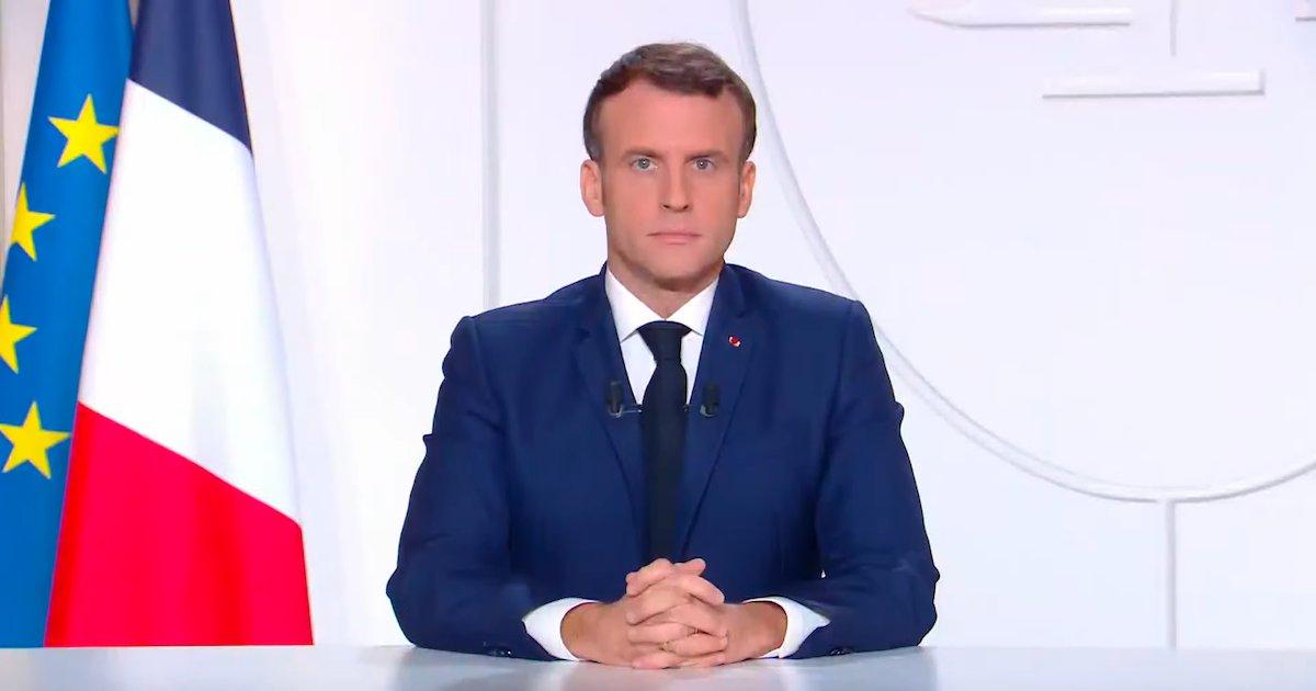 macron.png?resize=412,232 - Discours de Macron : la sixième allocution du chef de l'Etat n'a pas été la plus suivie