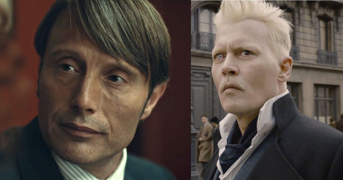 """mads mikkelsen johnny depp featured e1605199332135.jpg?resize=1200,630 - Mads Mikkelsen pressenti pour remplacer Johnny Depp dans les """"Animaux fantastiques"""""""
