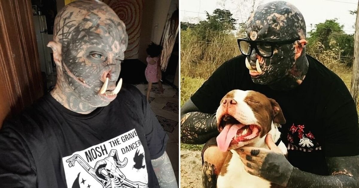 orc6.jpg?resize=1200,630 - Man Who Underwent Huge Range Of Body Modifications Shows Off New Addition To His Appearance