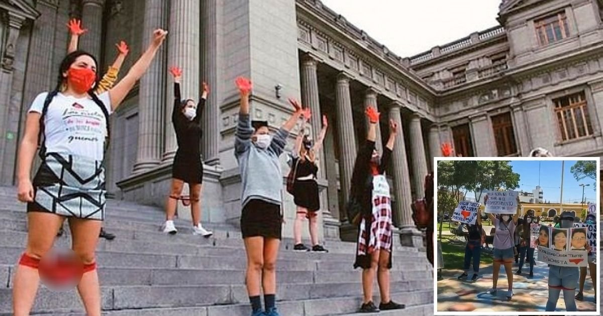 protest5.jpg?resize=1200,630 - Judges Dismiss Rape Case As Alleged Victim's Underwear 'Suggested She Was Willing To Have S**'