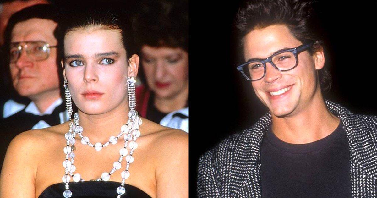 rob lowe.png?resize=1200,630 - Stéphanie de Monaco et Rob Lowe ont eu une brève histoire d'amour dans les années 80