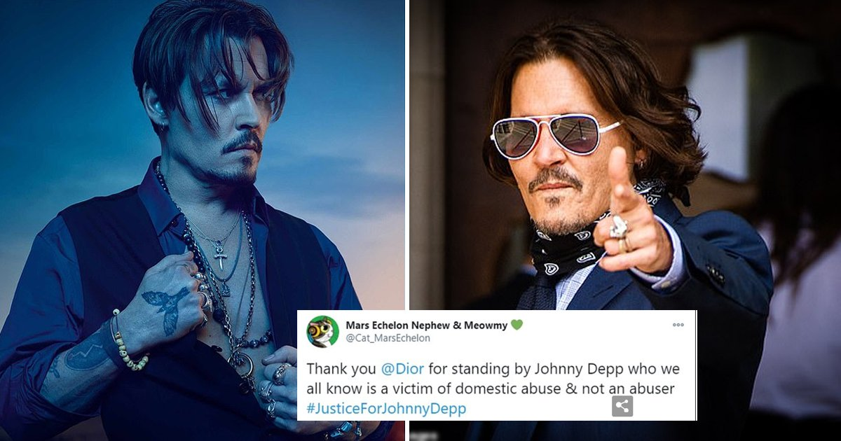sdf 1.jpg?resize=412,232 - Johnny Depp's Fans Rush To Buy Dior Fragrance After He Loses 'Wife Beater' Libel Case