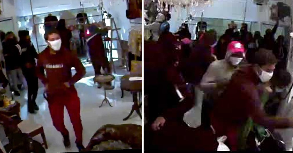 sfgsgf.jpg?resize=1200,630 - Surveillance Camera Captured A Black-owned Boutique Looted In Less Than A Minute