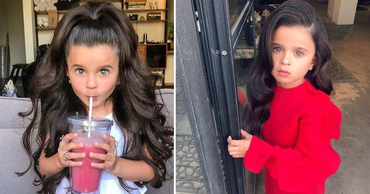 ssdfsdf.jpg?resize=1200,630 - 5-Year-Old Mia Aflalo Stuns Social Media With Her Incredibly Voluminous Hair