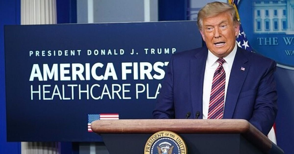 trump 1.jpg?resize=1200,630 - Donald Trump Claims Pfizer Played 'Corrupt Games' With Vaccine Announcement To Sabotage His Election