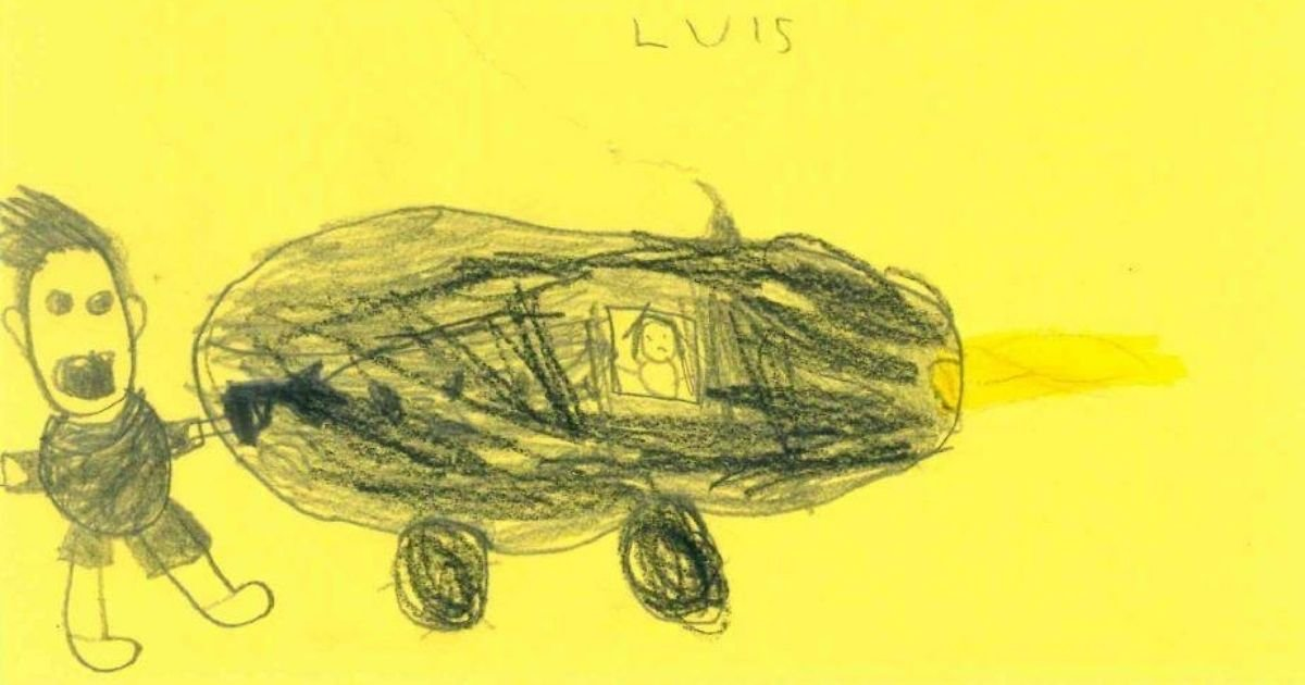 untitled design 1 20.jpg?resize=1200,630 - Police Share Children's Drawings In An Attempt To Catch A Hit-And-Run Suspect