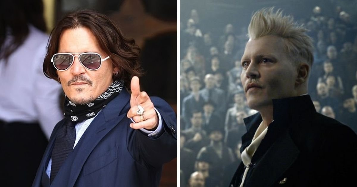 untitled design 12.jpg?resize=1200,630 - Johnny Depp Forced To Resign From Fantastic Beasts Following Amber Heard Trial