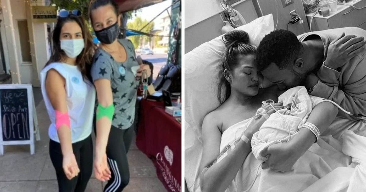 untitled design 2 2.jpg?resize=1200,630 - Chrissy Teigen's Friends Donate Blood In Honor Of Late Baby Jack