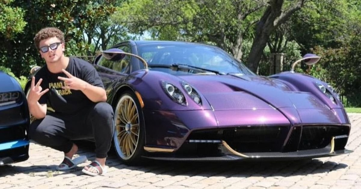 untitled design 3 14.jpg?resize=1200,630 - Teenager Crashes His Father's $3.4 Million Hypercar And Says 'Sh** Happens'