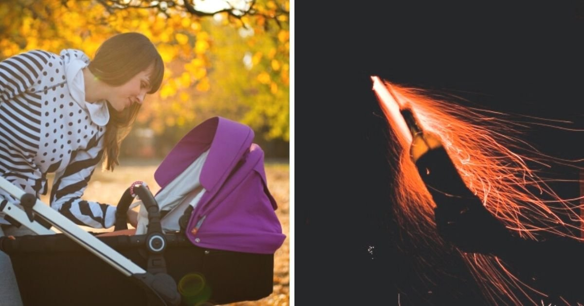 untitled design 5 9.jpg?resize=1200,630 - Baby's Clothes Catch Fire After Group Launches Fireworks Into Stroller