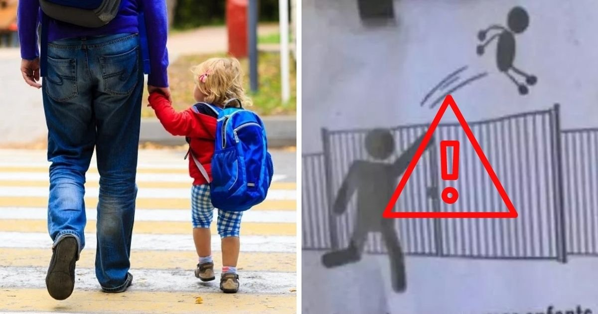 untitled design 8 2.jpg?resize=1200,630 - School Banned Parents From 'Literally Throwing' Their Children Over The Gates