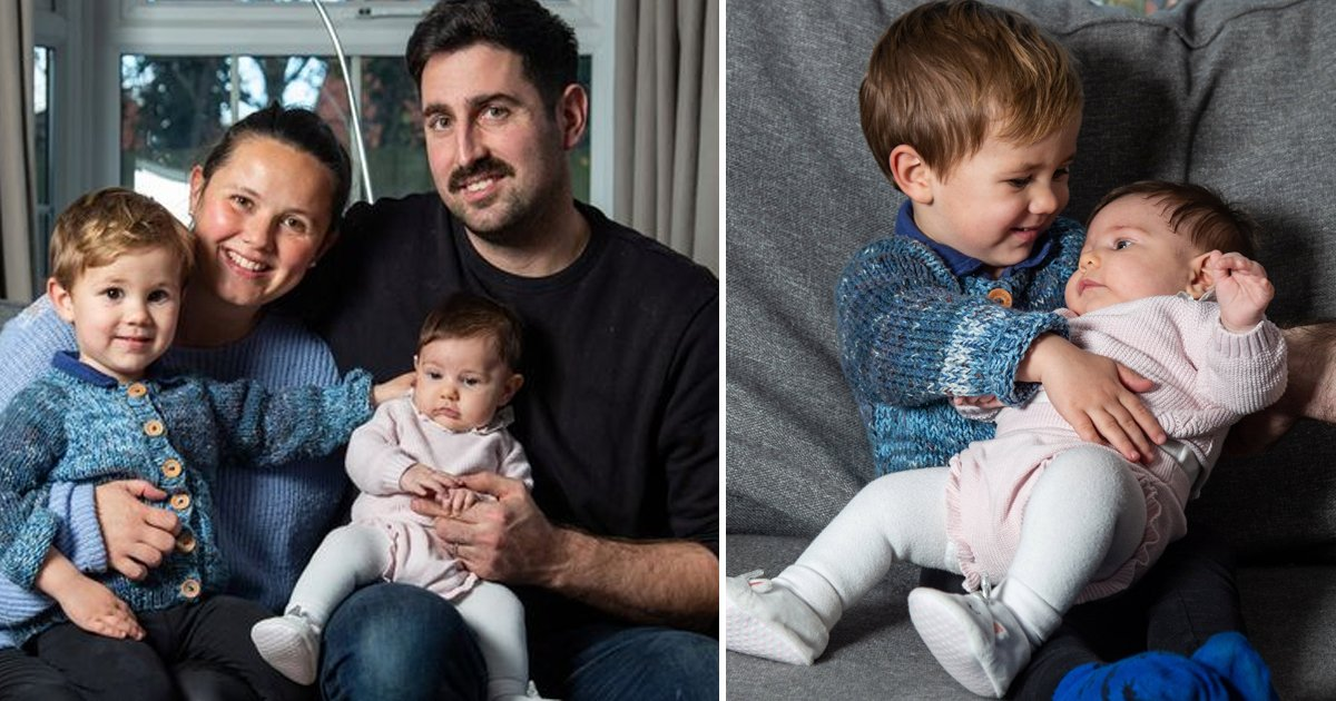 yadfsf.jpg?resize=1200,630 - Pride And Joy For Couple After Welcoming Miracle IVF Twins Born 2 Years Apart