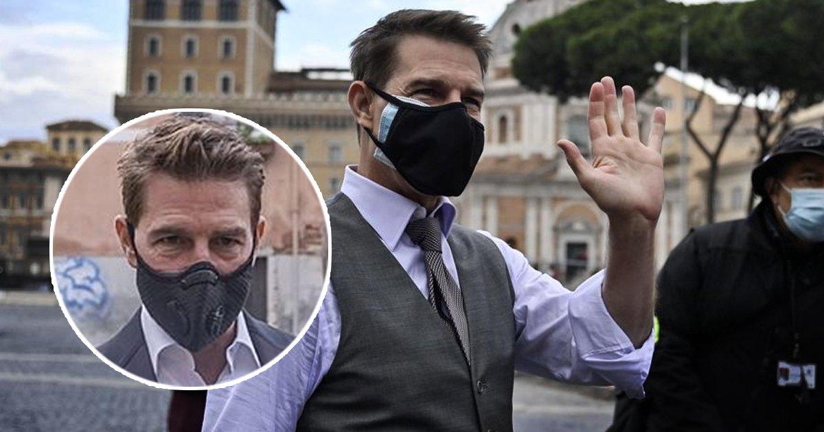 1 112.jpg?resize=1200,630 - Tom Cruise 'Explota' En El Rodaje De Misión Imposible 7 Por Las Medidas Anti-COVID