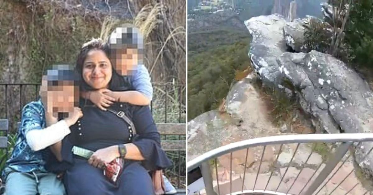 1 89.jpg?resize=1200,630 - Madre Cayó Hasta Su Muerte Frente A Sus Hijos Después De Trepar Una Barandilla En Un Lugar Turístico