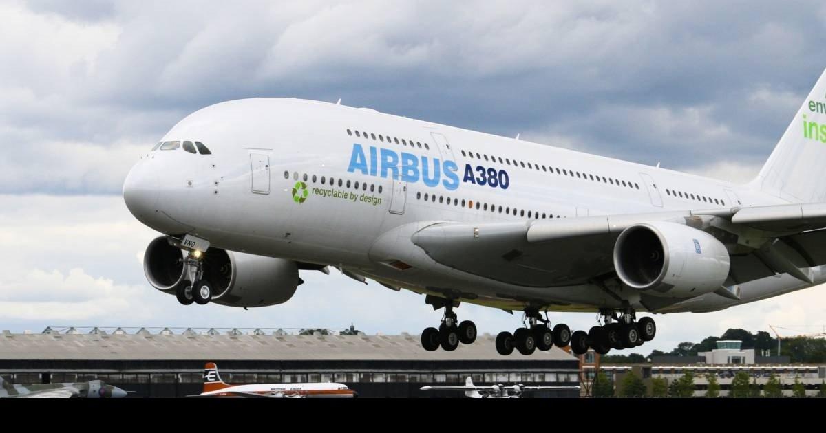 1 a380.jpg?resize=412,232 - Lors du dernier vol d'un Airbus A380, son pilote a dessiné un cœur dans le ciel