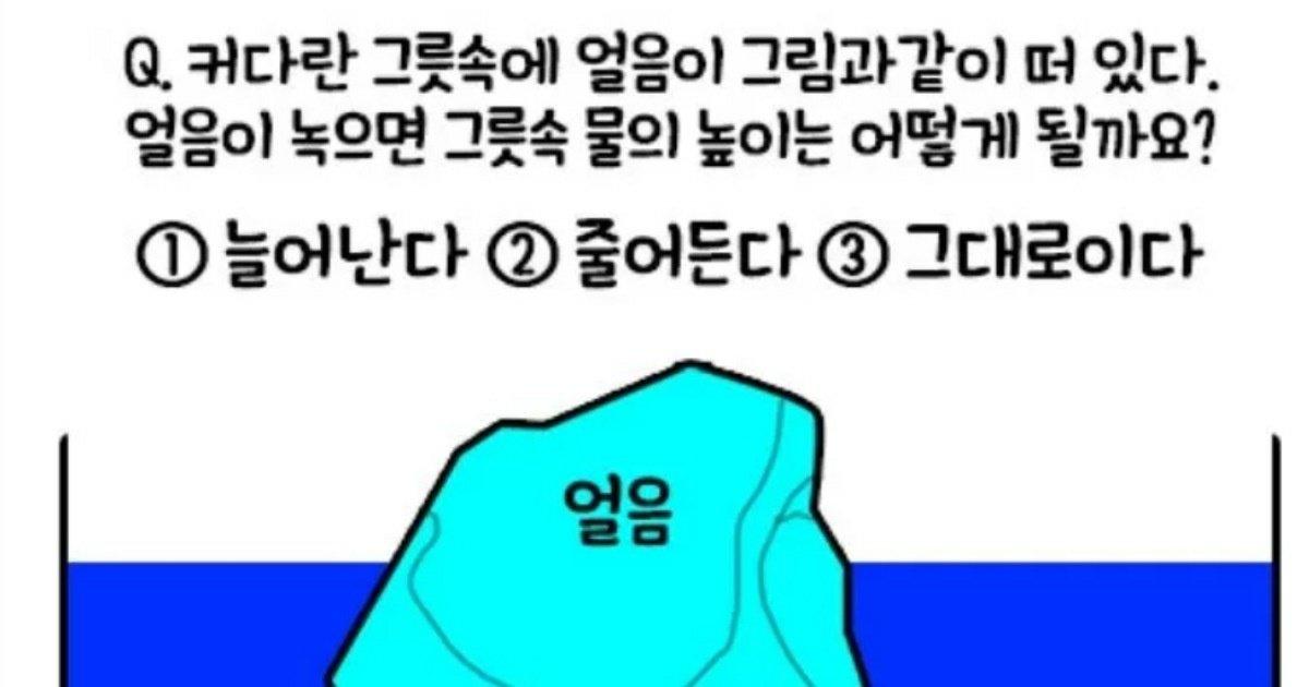 12 12.jpg?resize=412,275 - 다음 중 알맞은 정답은?... 서울대생들 사이에서도 논란이 된 문제의 '놀라운' 정답.jpg