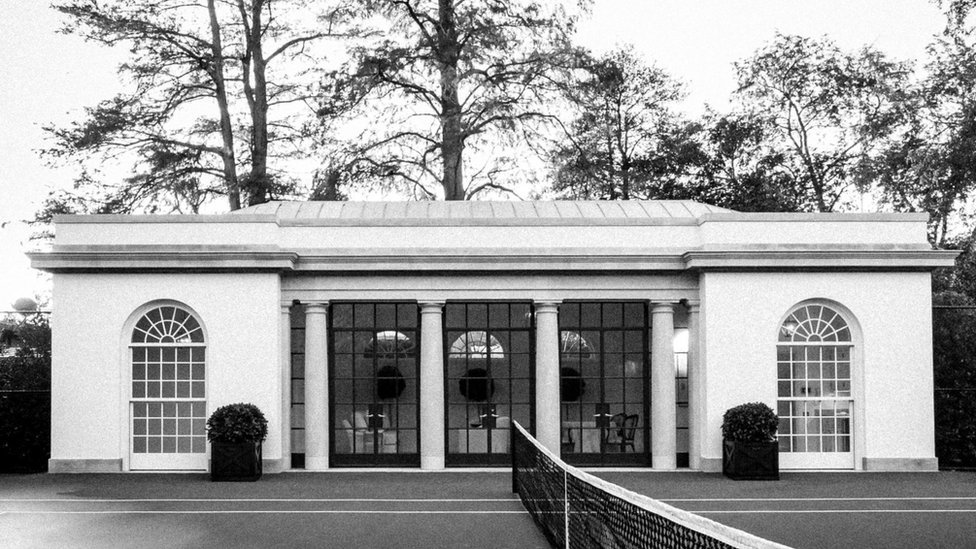 white house tennis pavilion