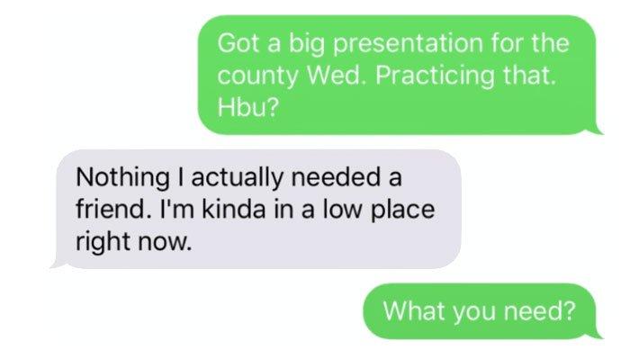 last text messages
