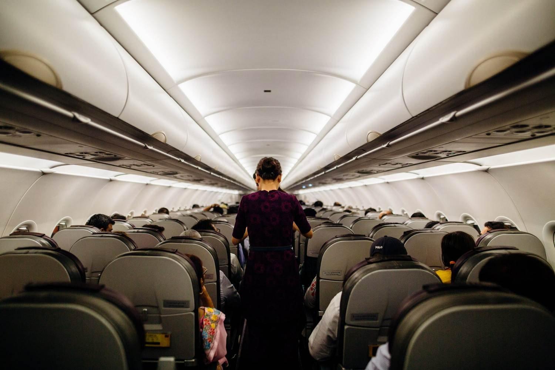 Este método permite desinfectar un avión en apenas 20 minutos