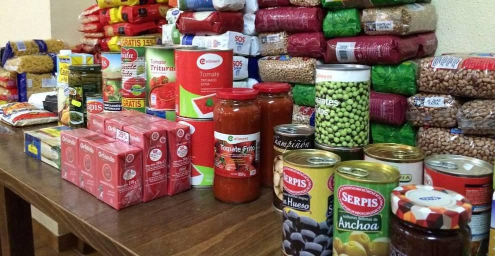 Alimentos no perecederos para ayudar a las personas más vulnerables de la  provincia abulenses