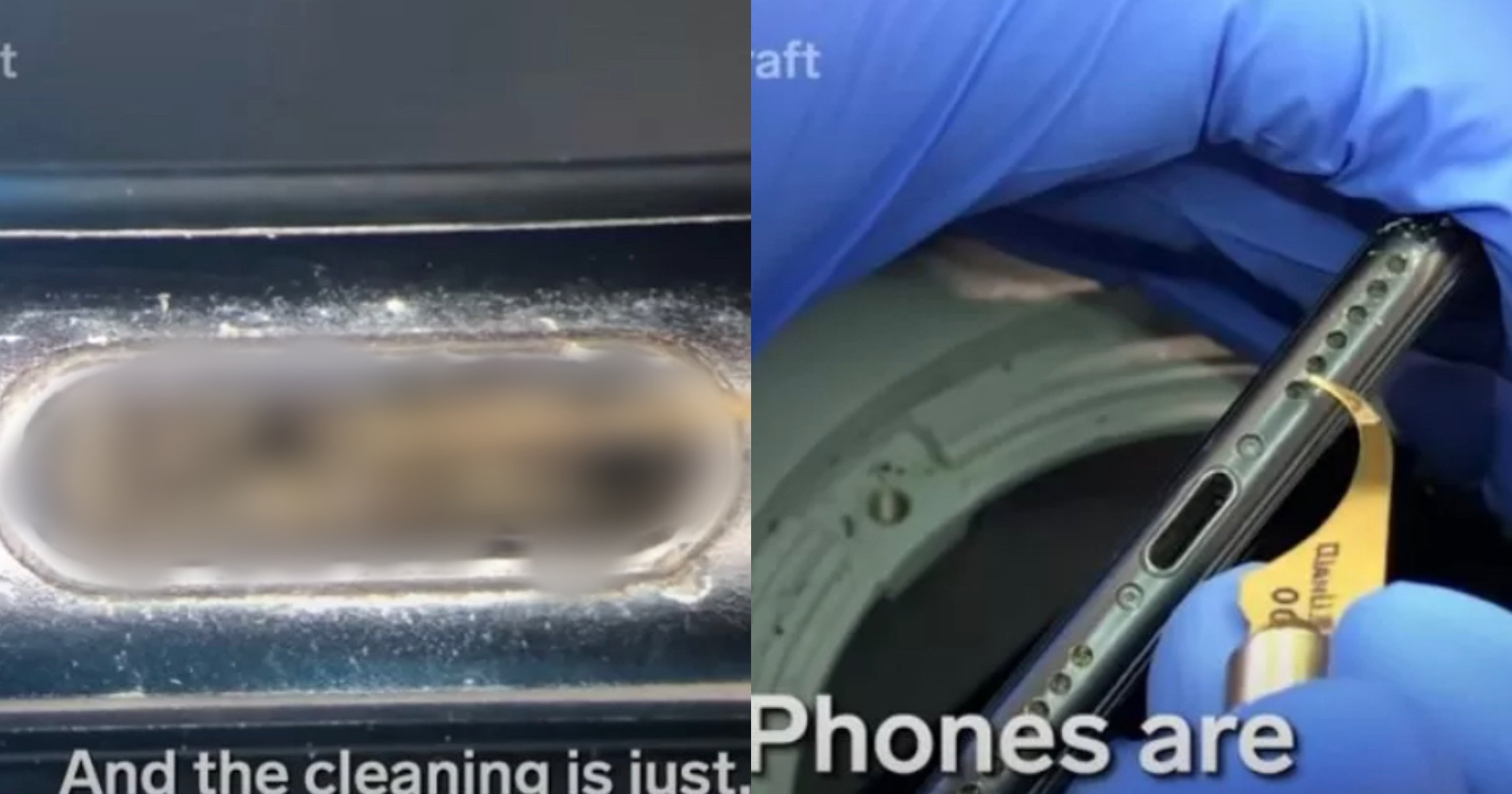 """660e421c d4df 4e37 9160 0bff129971f0.jpeg?resize=412,232 - """"헐 이걸 맨날 들고 다녔던 거야.?""""..2년 동안 청소 안 한 '아이폰'을 현미경으로 들여다 본 '충격적인' 모습(+사진)"""