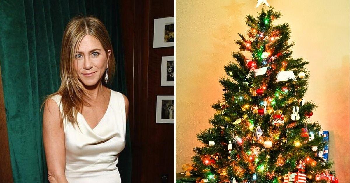 aniston6.jpg?resize=1200,630 - Jennifer Aniston Slammed Over Her Christmas Tree Ornament