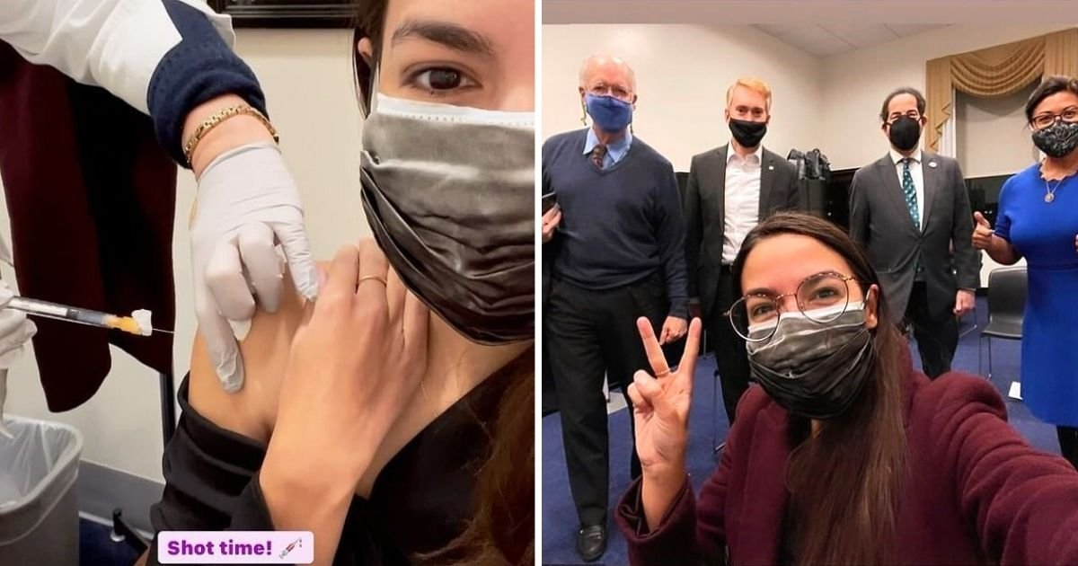 aoc6.jpg?resize=1200,630 - AOC Receives Pfizer Vaccine And Shares The Moment With Her Followers
