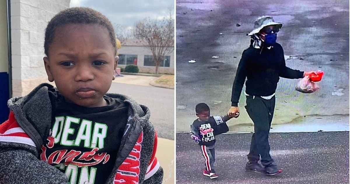 boy5 1.jpg?resize=1200,630 - Man Leaves 2-Year-Old Boy Outside A Store And Never Returns, Note Says His Mother 'Can't Take Care Of Him Anymore'