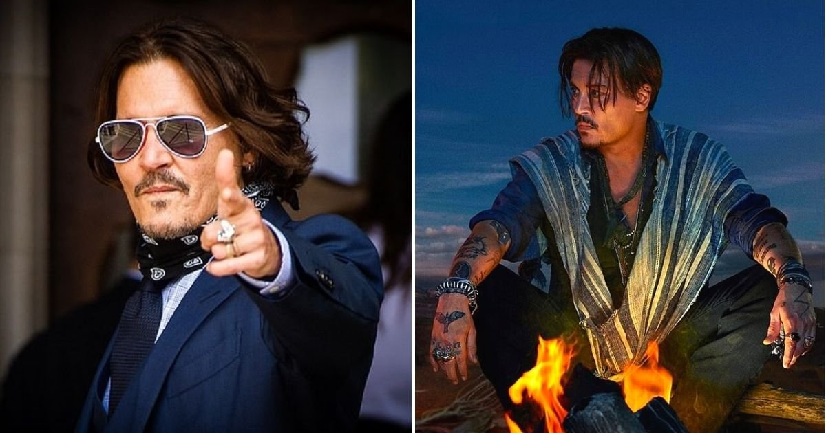 depp7.jpg?resize=1200,630 - Lawyer Slams A Luxury Brand For Using Johnny Depp's Face In Ads After He Lost 'Wife Beater' Libel Trial