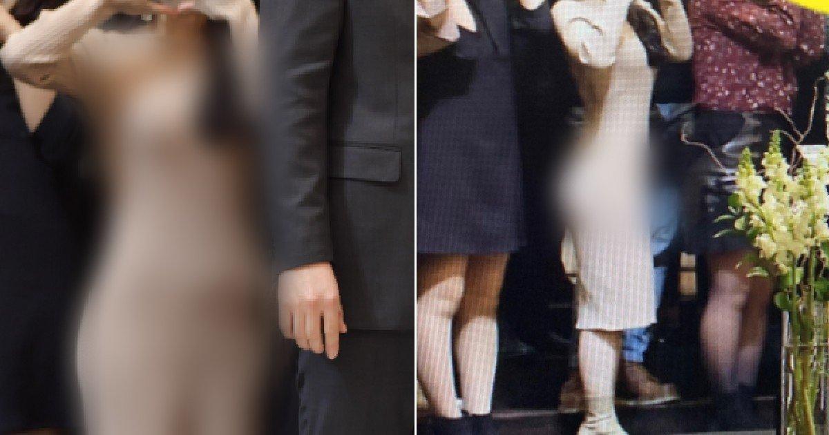 "ec8db8eb84a4ec9dbc.jpg?resize=1200,630 - ""결혼식서 이런 옷을 입는다고???"" 숭한 몸매로 욕먹고 있는 민폐하객 수준"